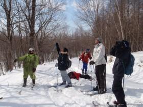 研究林実習Ⅳ標茶林内の樹木観察
