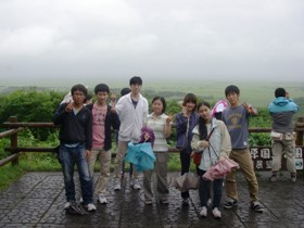 釧路湿原の植生観察