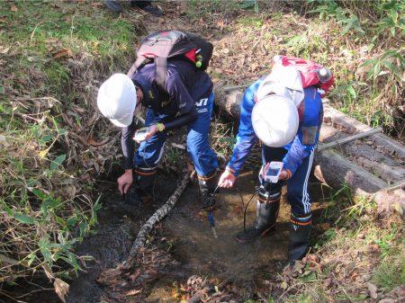 水質調査体験
